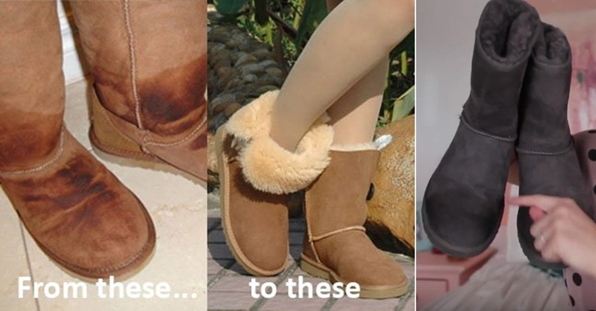 54ca6f4220 How to Clean UGG Boots at Home  6 Simple Steps (Video)