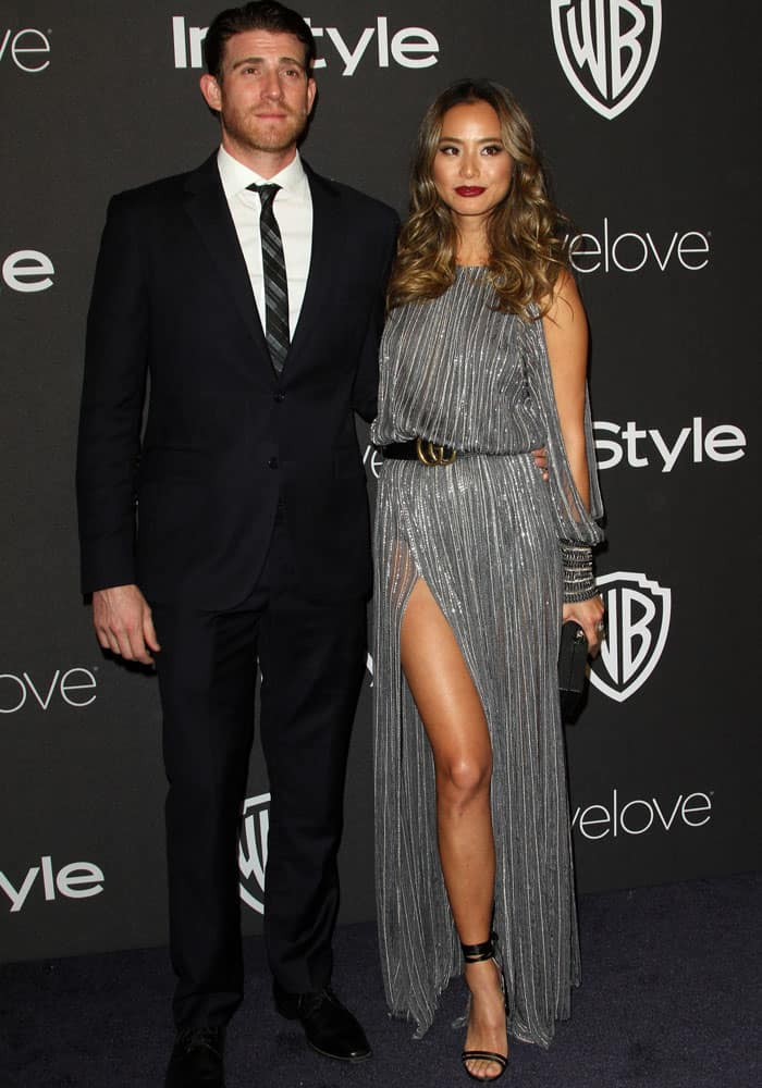 Jamie partied the night away with her husband and partner-in-crime Bryan Greenberg