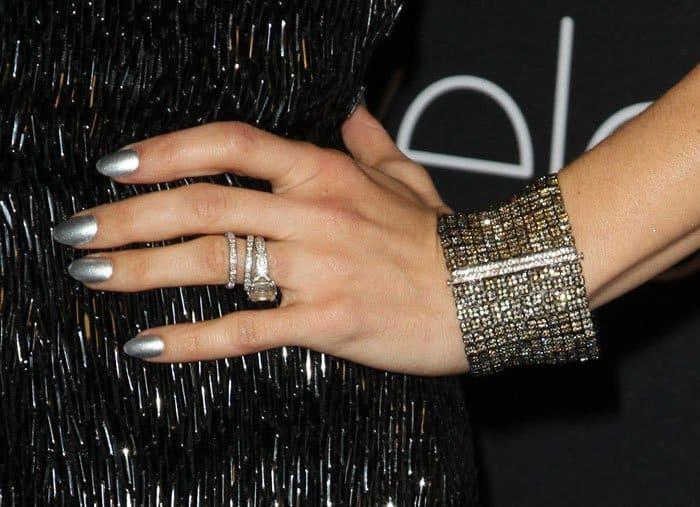 Jenna Dewan-Tatum sparkled in jewelry from Lorraine Schwartz