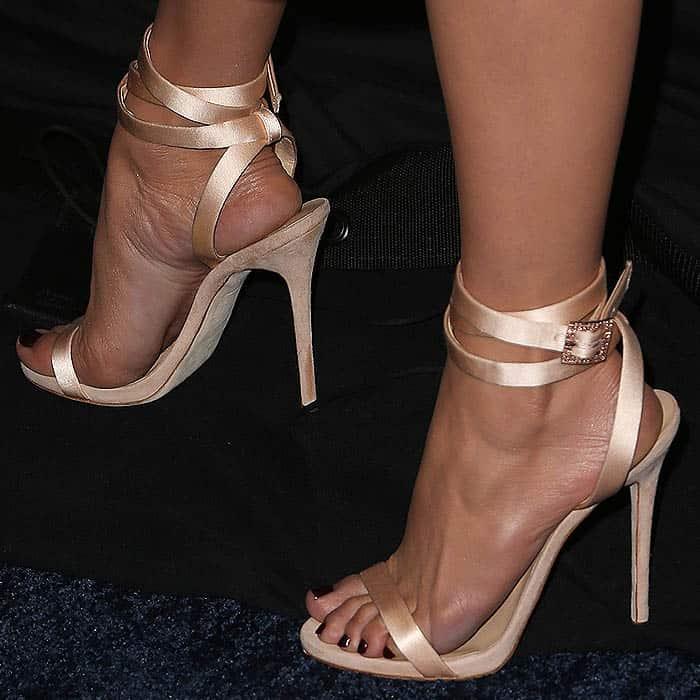 Jennifer Lopez Rocks Giuseppe Zanotti Leslie Sandals
