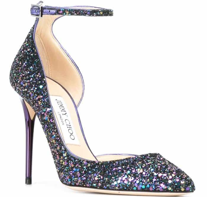 Jimmy Choo Lucy d'Orsay Suede Pumps