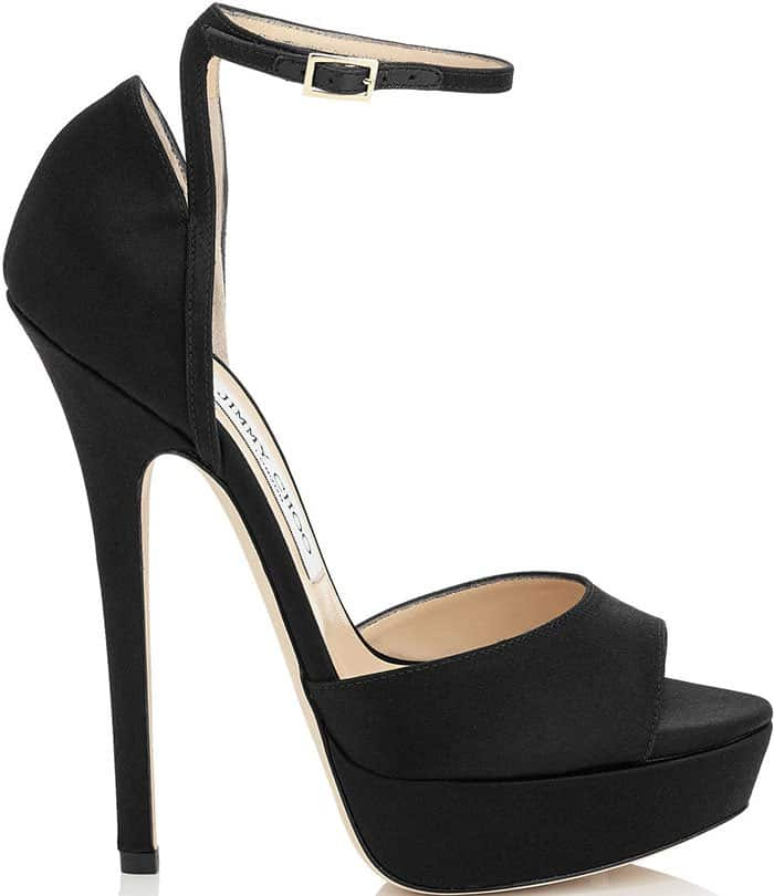 Jimmy Choo Pearl Satin Sandals