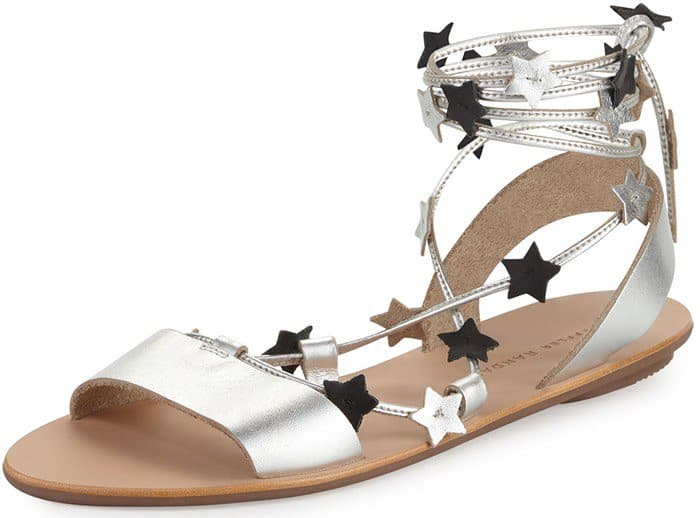 926bef030f06 Light up your vacation look with these flat gladiator  Starla  sandals that  you can purchase at Amazon