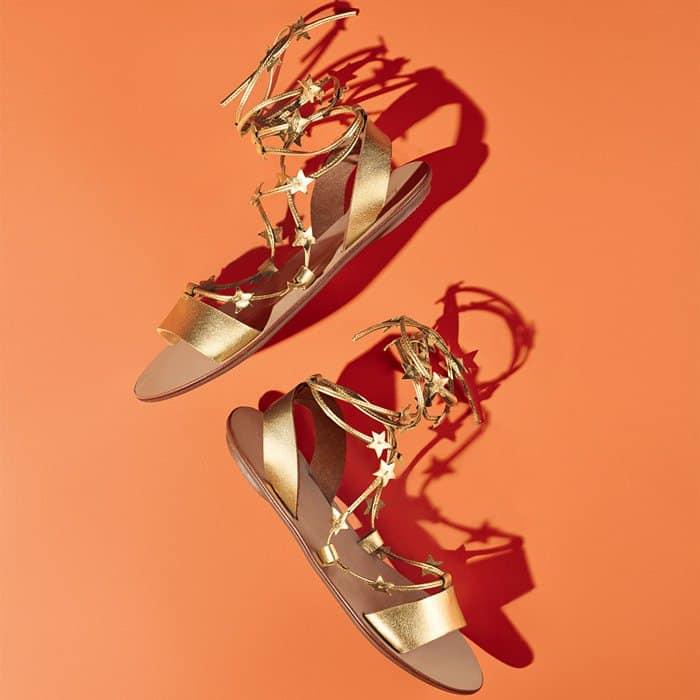 Star-Studded Loeffler Randall 'Starla' Gladiator Flat Sandals