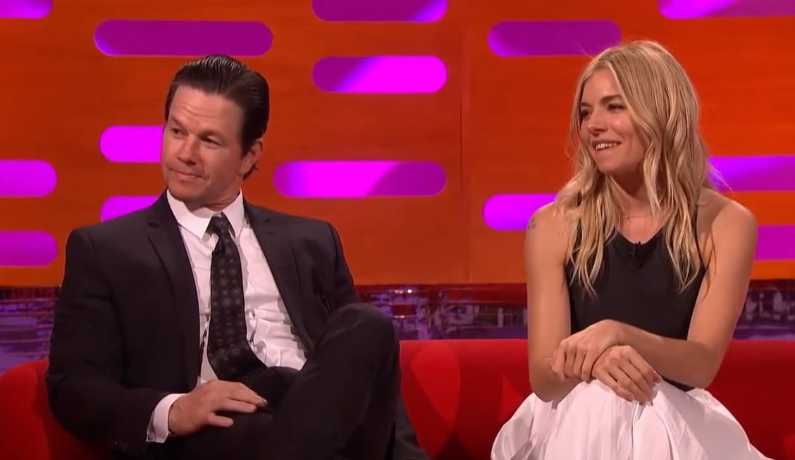 Sienna Miller revealed she lactated on Mark Wahlberg the first time they met