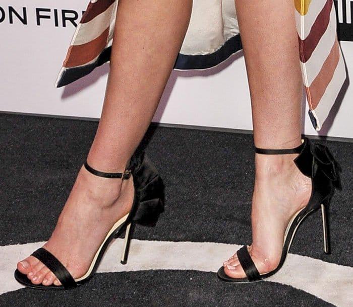 Miranda Kerr in Jimmy Choo sandals
