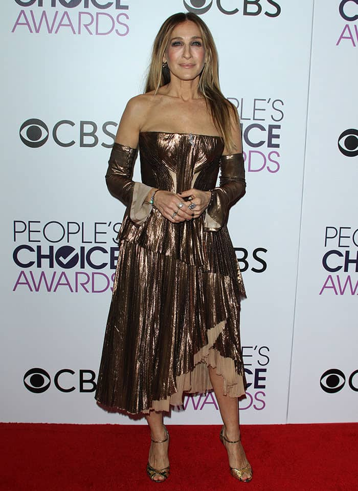 Sarah Jessica Parker at the 2017 People's Choice Awards held at the Microsoft Theatre in Los Angeles