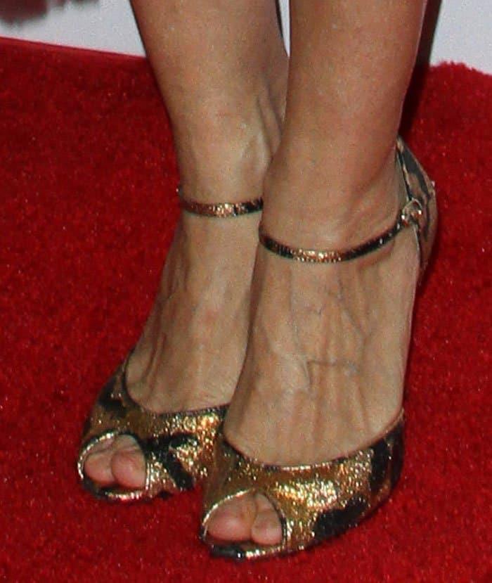 Sarah Jessica Parker in SJP sandals