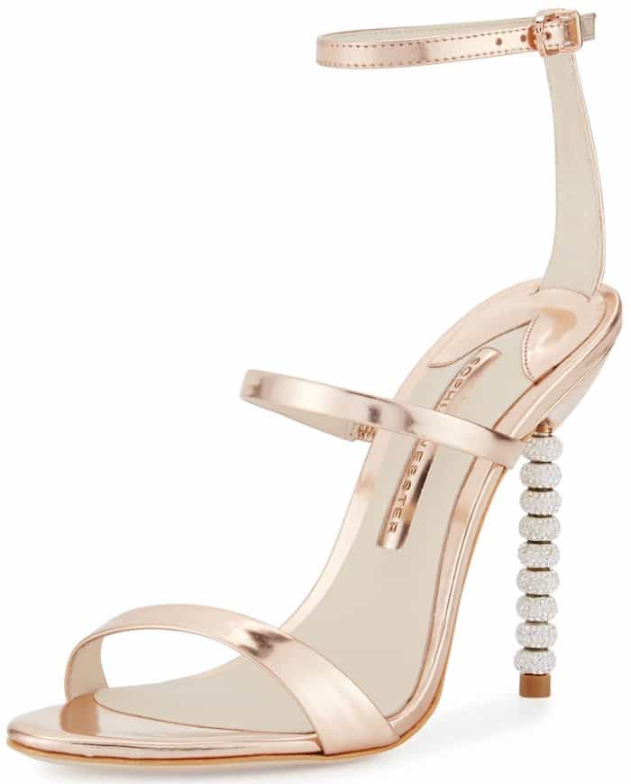 Sophia Webster 'Rosalind' Crystal-Heel Sandals