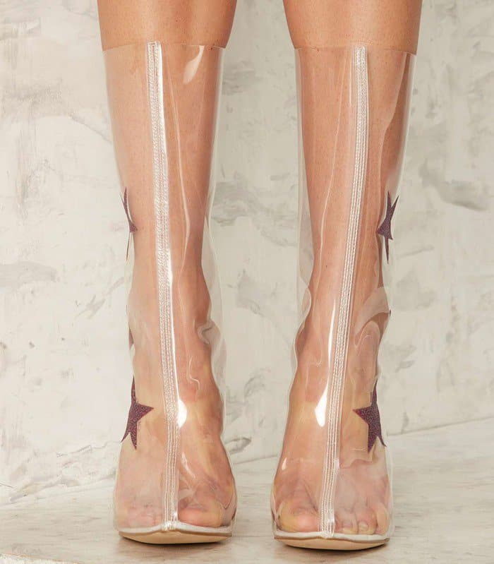 Be A Shining Foggy Star In These Superstar Clear Boots