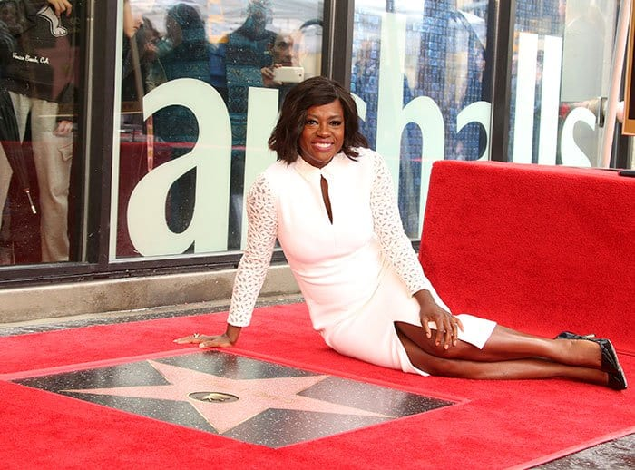 Viola Davis is the first black woman to have won a Tony, an Emmy, and an Oscar for acting