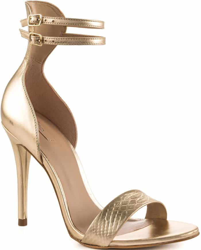 Aldo Faine Sandals in Gold