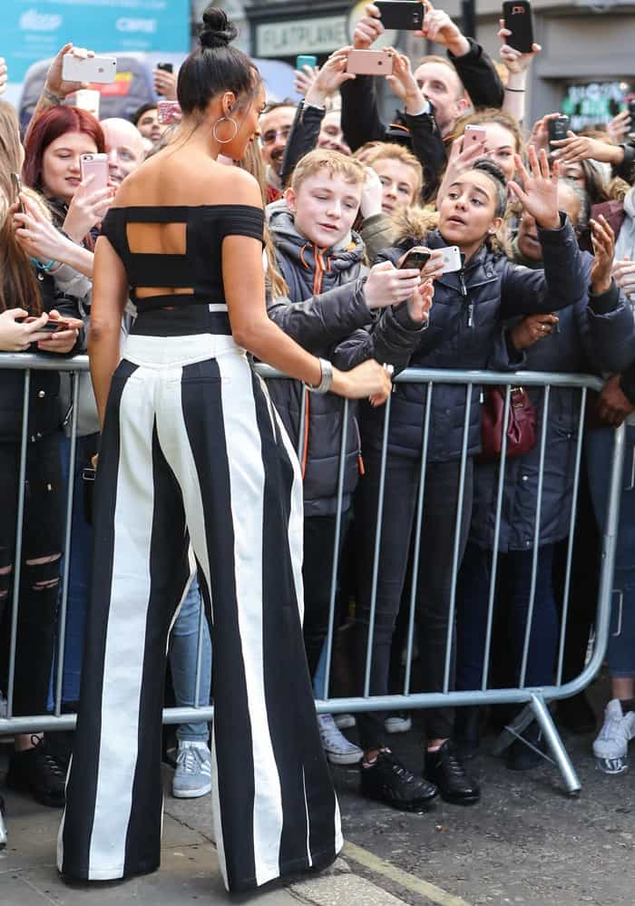 Alesha Dixon at Britains Got Talent London auditions held at the London Palladium on January 28 and 29, 2017