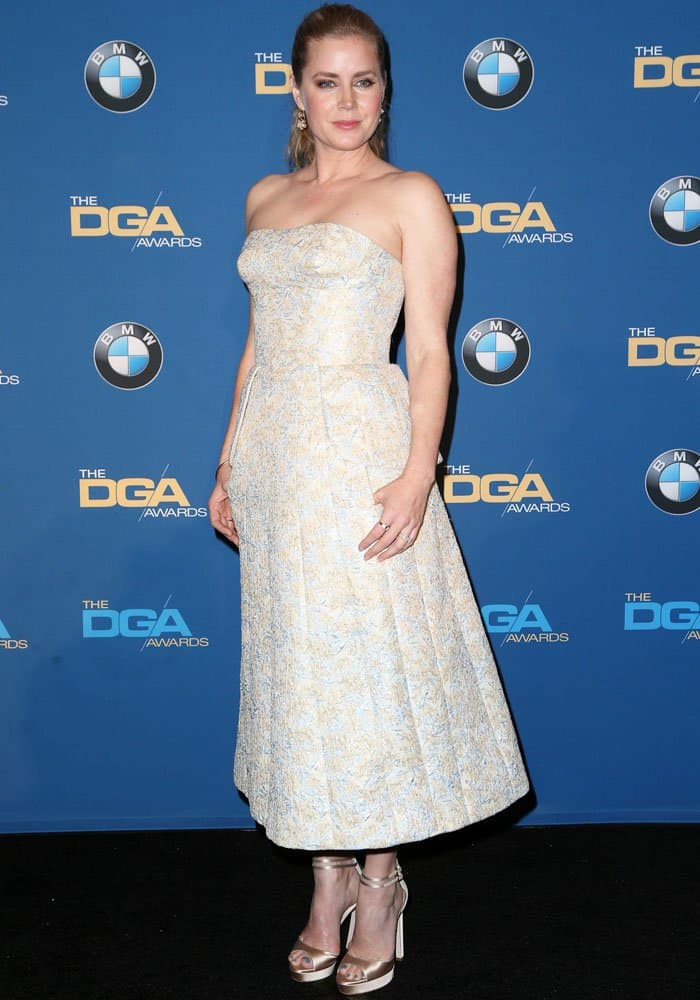 Amy Adams at the 69th annual Director Guild Awards