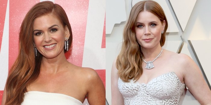 Amy Adams (right) and Isla Fisher (left) often joke about being celebrity twins