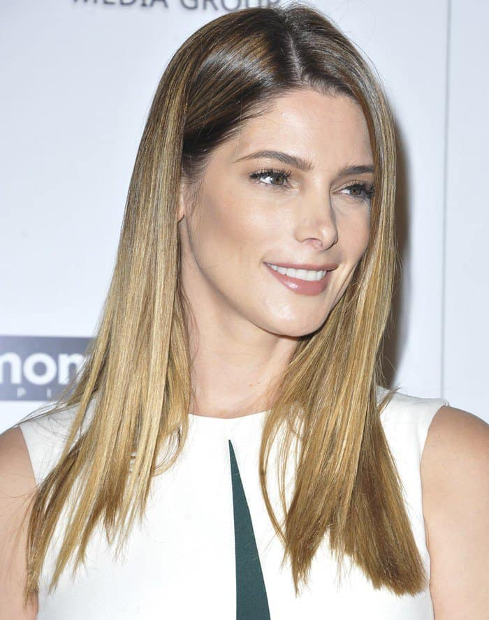 Ashley Greene on the red carpet for the premiere of her new film 'In Dubious Battle'