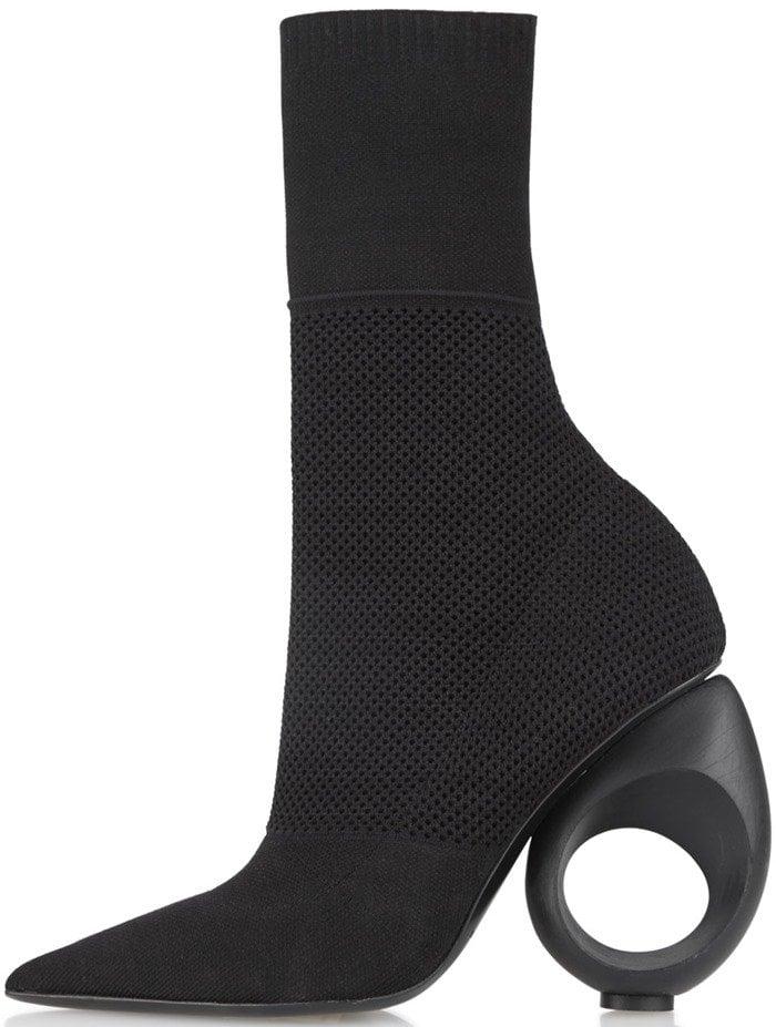 Burberry 'Kimberly' Sculpt-Heel Sock Booties