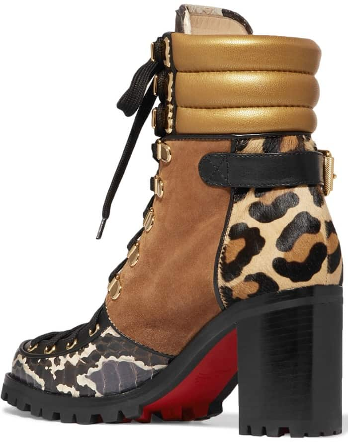 a72c59fbce76 Christian Loboutin s Trekking- and Vintage-Inspired  Who Runs  Ankle ...
