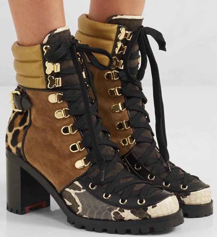 Christian Louboutin 'Who Runs' Boots