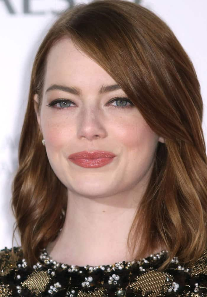 Emma Stone at the BAFTA Nespresso nominees party held