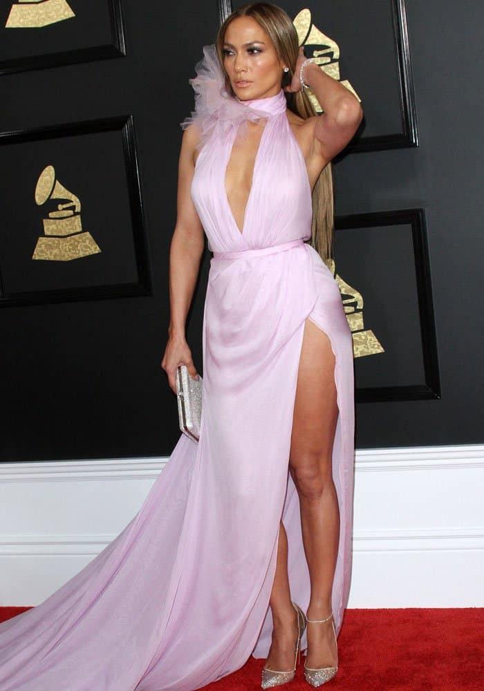 J.Lo divides fashion opinions with her Ralph & Russo look