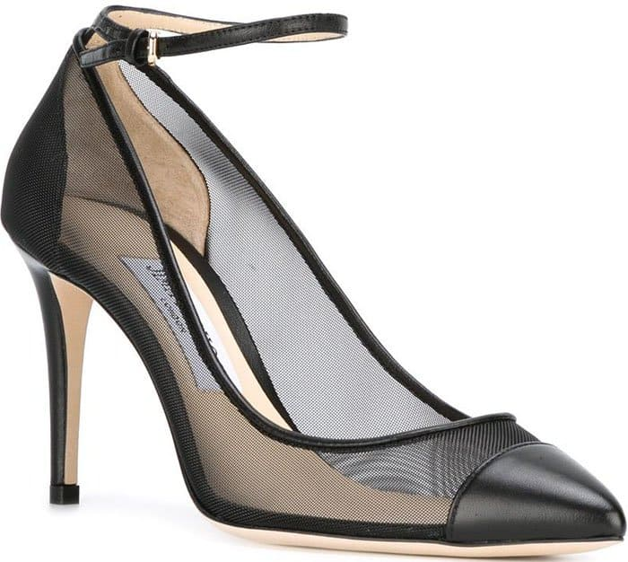 Jimmy Choo 'Tower' mesh pumps