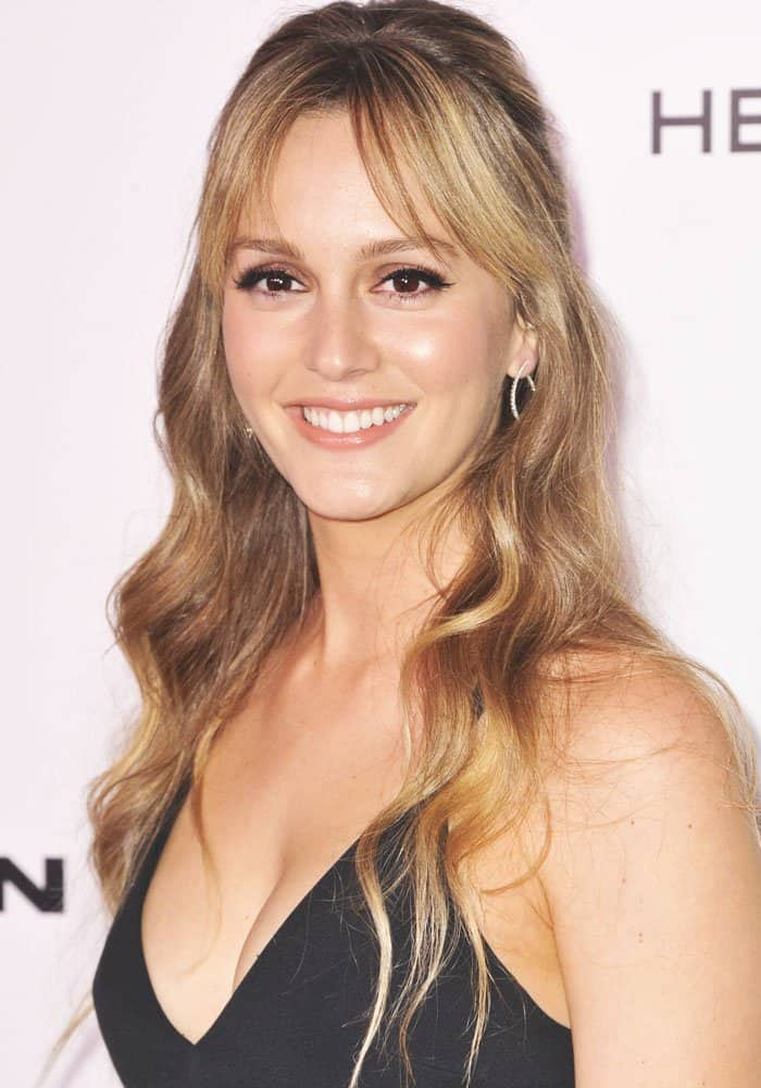Leighton Meester at the Harper's Bazaar Celebrates 150 Most Fashionable Women held at the Sunset Tower Hotel in Los Angeles