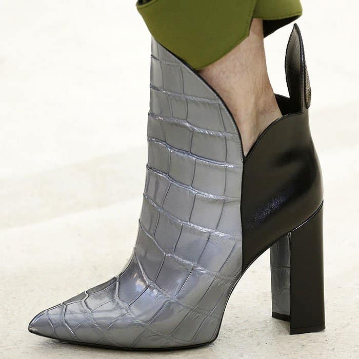 Louis Vuitton spring 2017 'Gambit Diva' ankle boots