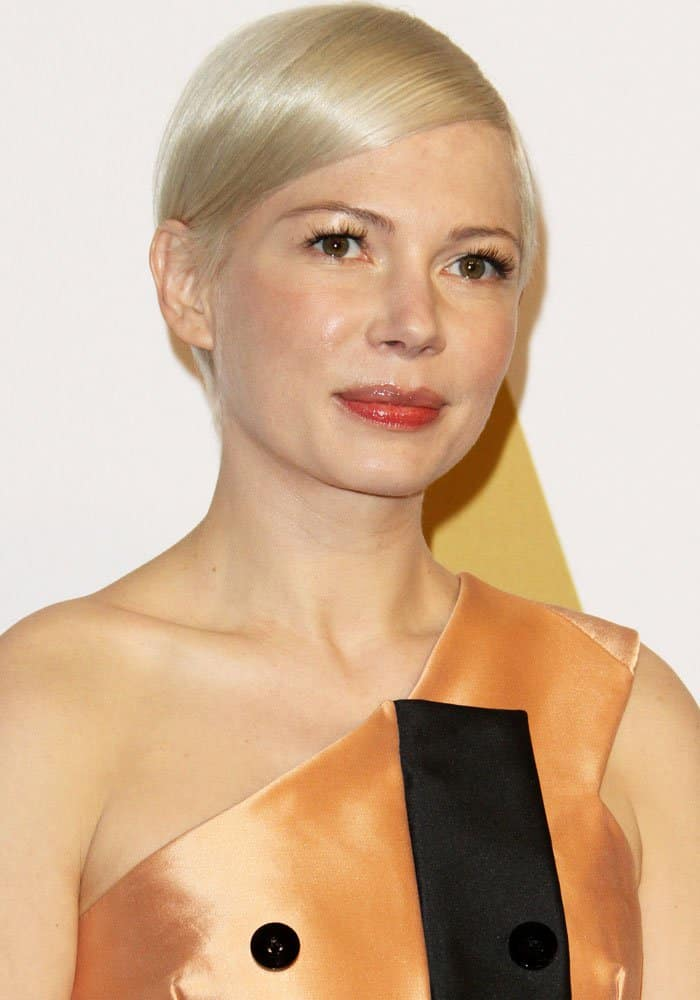 Michelle Williams at the 89th Oscars nominees luncheon