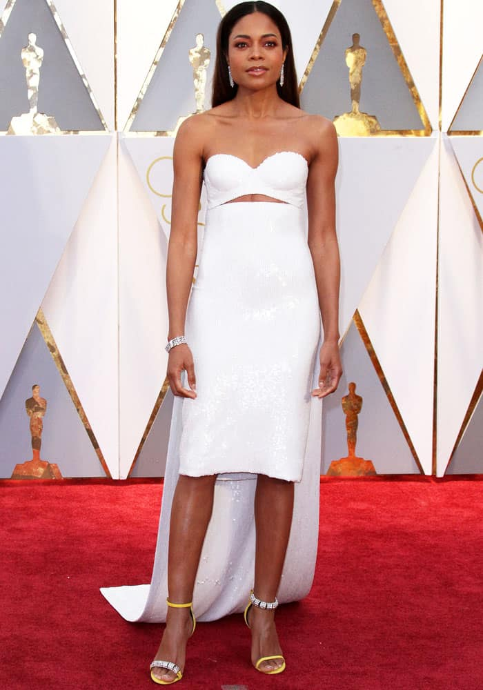 Naomie Harris at the 89th Annual Academy Awards