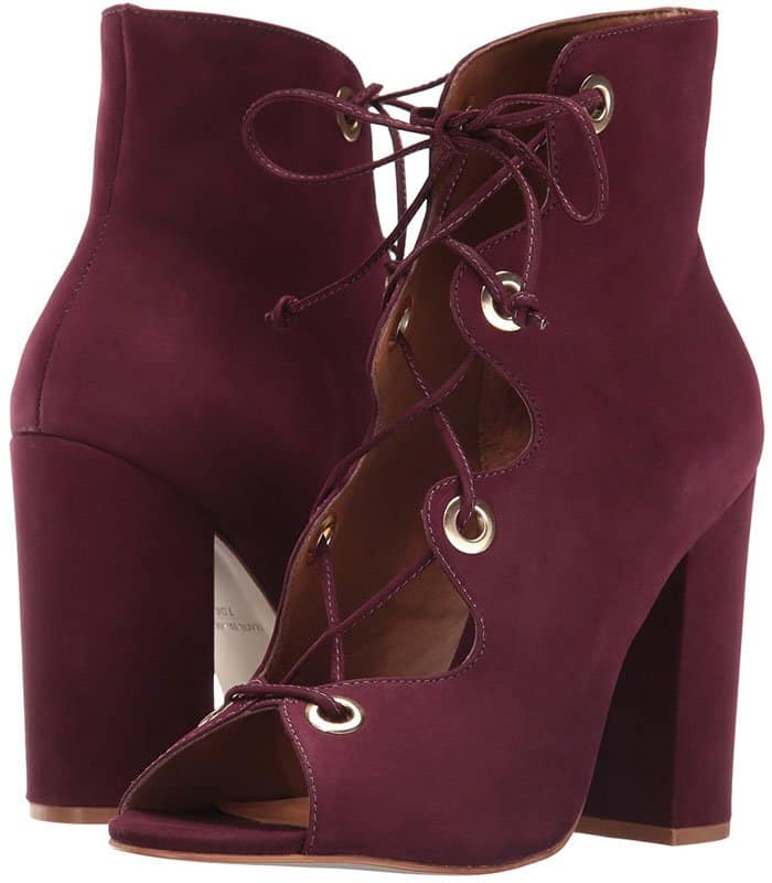 "Steve Madden ""Carusso"" Lace-Up Booties"