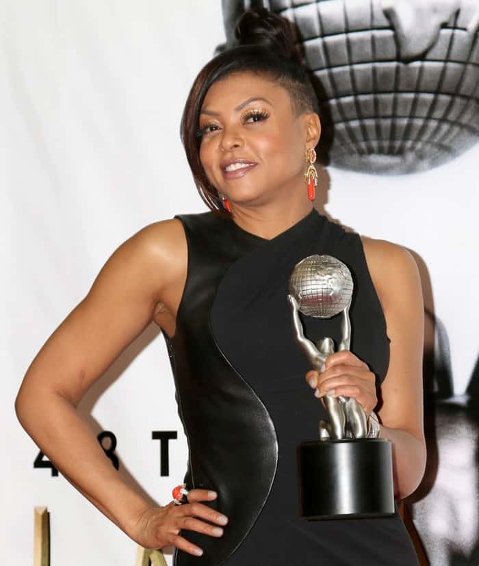 Taraji P. Henson won Outstanding Actress in a Drama Series for her role as Cookie Lyon