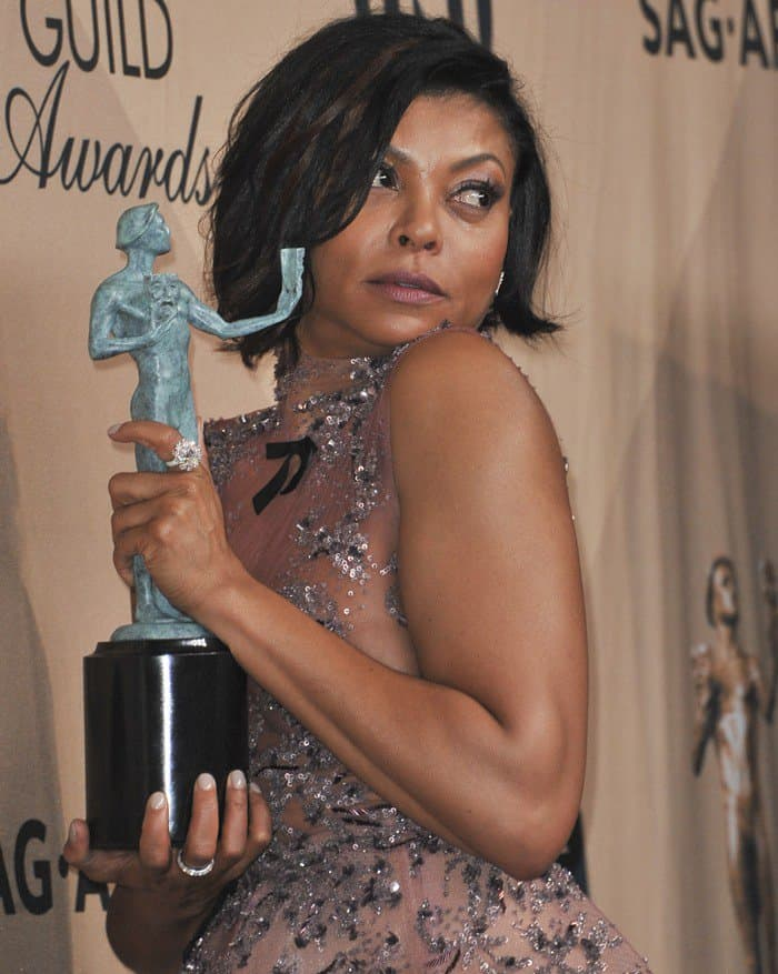 Taraji P. Henson won the top prize of the night