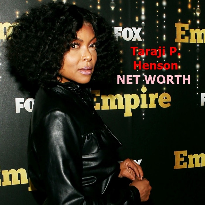 Taraji P. Henson's net worth is $16 million