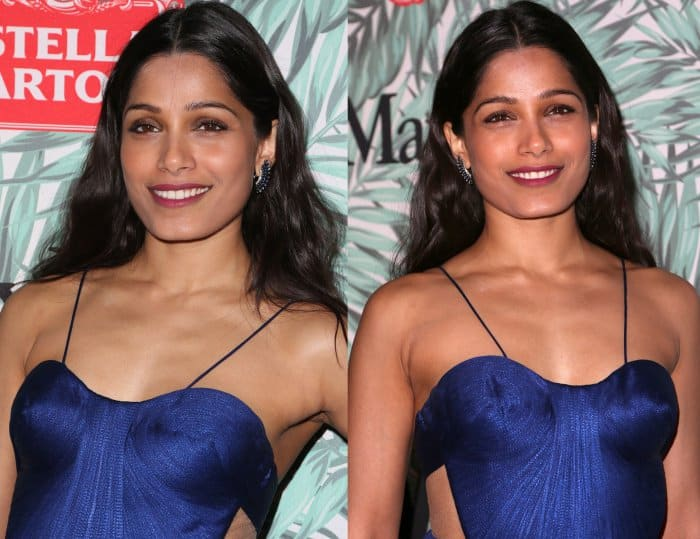 Freida Pinto at the 10th Annual Women in Film Pre-Oscar Cocktail Party