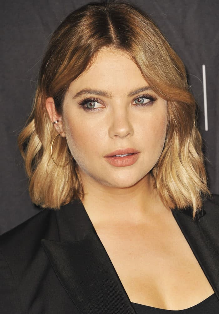 """Ashley Benson at the Paleyfest LA's screening of """"Pretty Little Liars"""" in Los Angeles on March 25, 2017"""