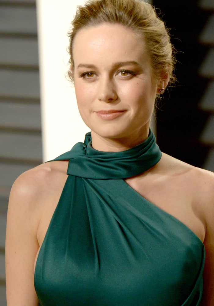 Brie Larson attending the Vanity Fair Oscar Party