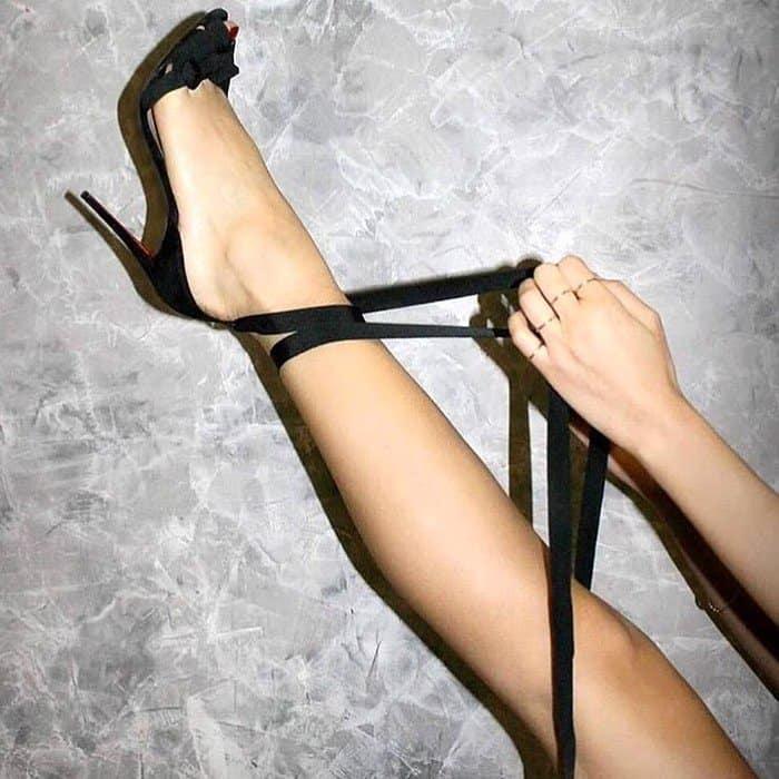 Christian Louboutin's 'Christeriva' stiletto sandals