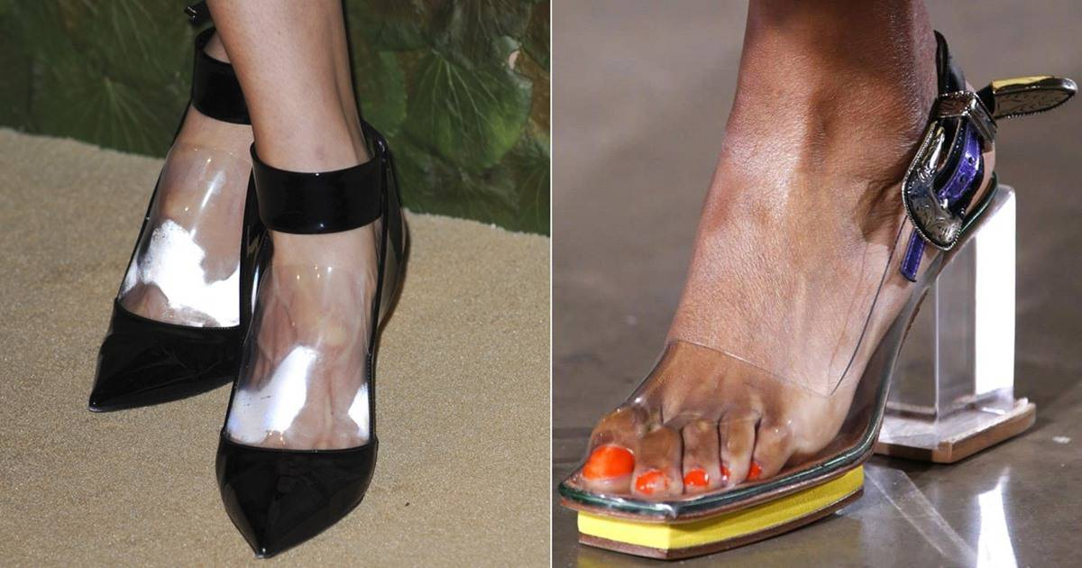 Sweaty Feet And Shoes 11 Nastiest Clear Shoe Disasters