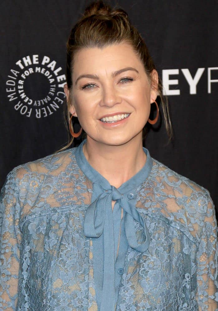 """Ellen Pompeo attending the Paley Center for Media's 34th PaleyFest Los Angeles screening of """"Grey's Anatomy"""""""