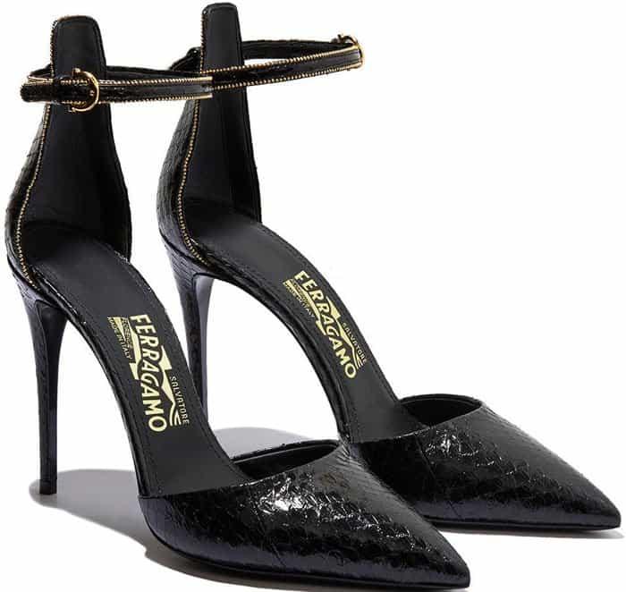 Salvatore Ferragamo Ankle Strap Pumps