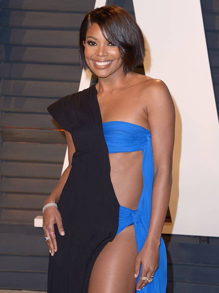 Gabrielle Union's body was banging, her self-confidence was slaying, and her flawless brown skin was glowing