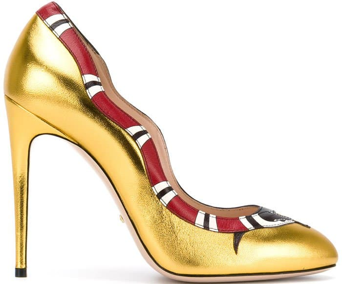 Gucci Snake Pumps