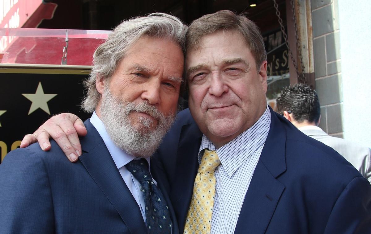 The Big Lebowski co-stars Jeff Bridges and John Goodman