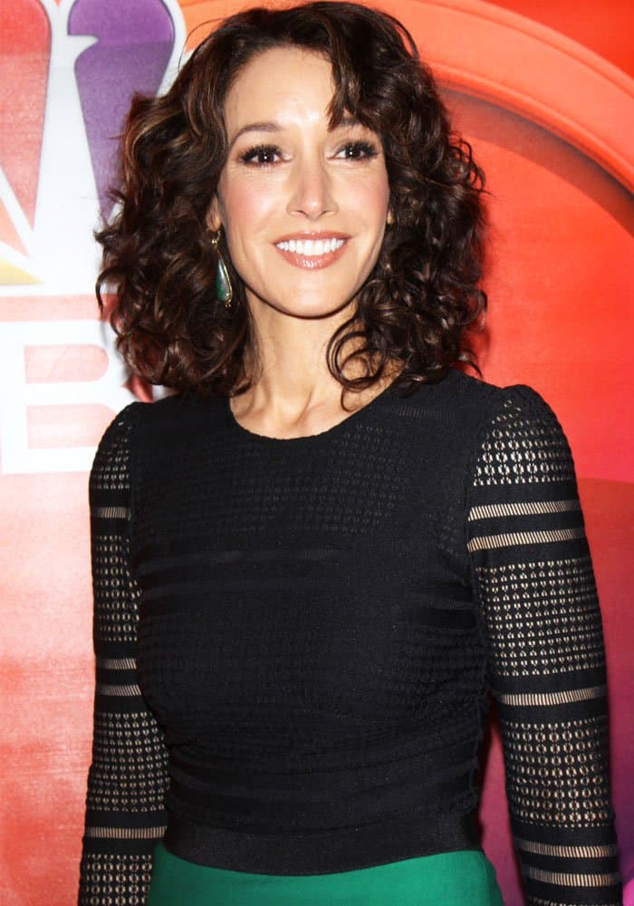 Jennifer Beals at the NBC Universal mid-season press junket at the Four Seasons Hotel in New York on March 3, 2017