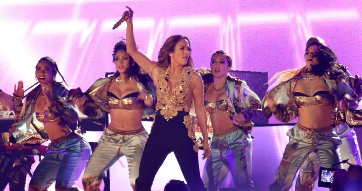Jennifer Lopez performed some of her hits during the 2021 Global Citizen Live