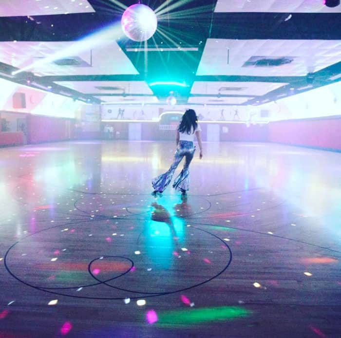 Jessica uploaded a photo from her roller skate-themed birthday