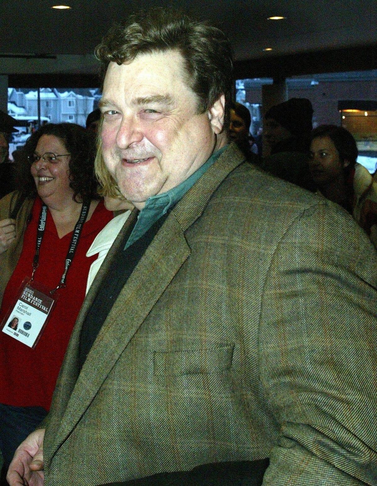 John Goodman before his weight loss at the 2003 Sundance Film Festival