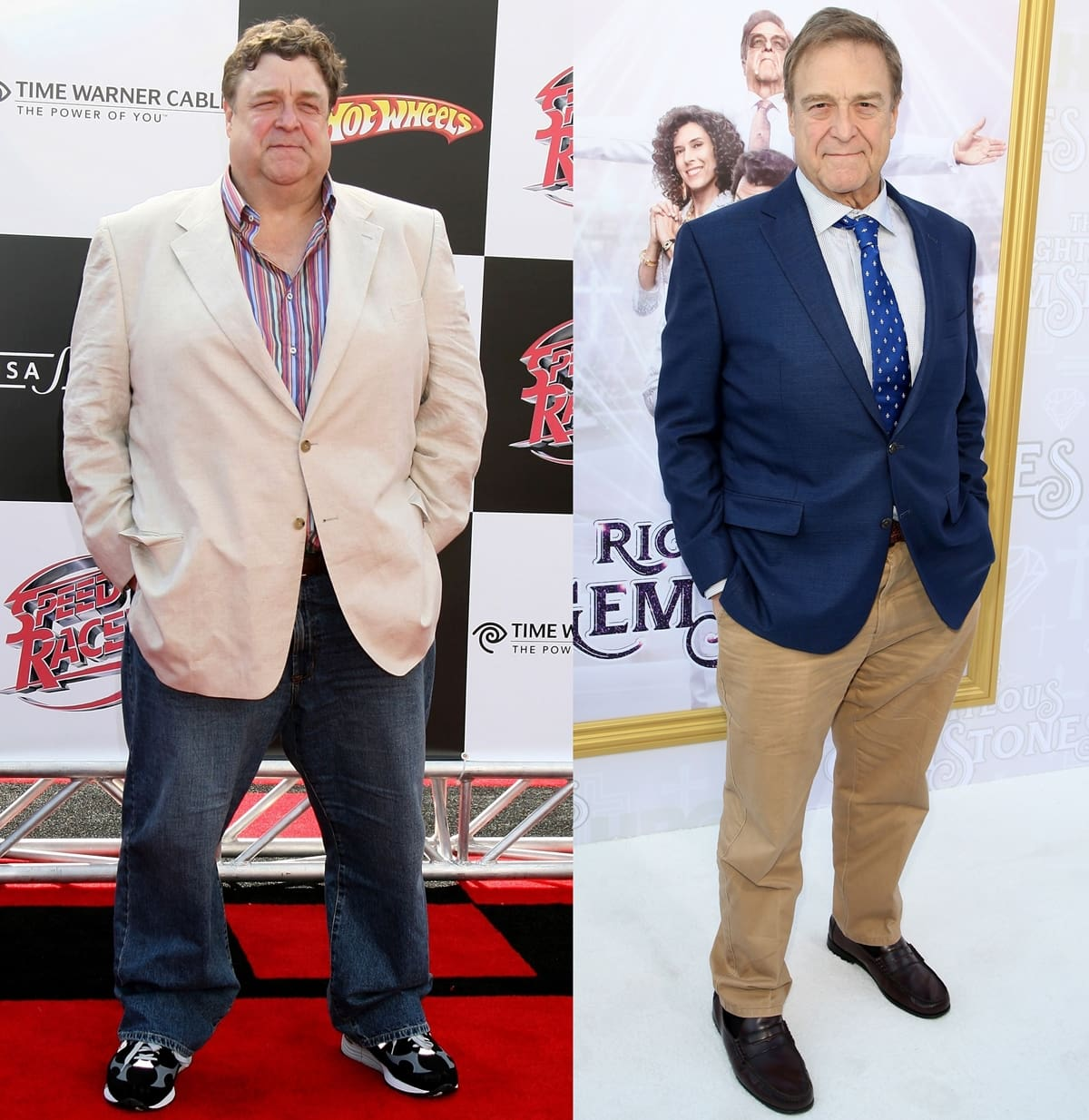 John Goodman has lost more than 100 pounds by implementing a healthier diet and exercise regime