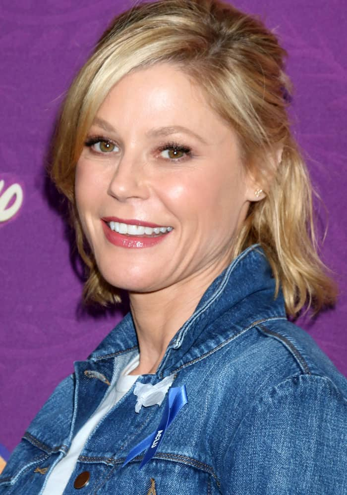 Julie Bowen at the screening of Disney's Tangled Before Ever After in Los Angeles on March 4, 2017